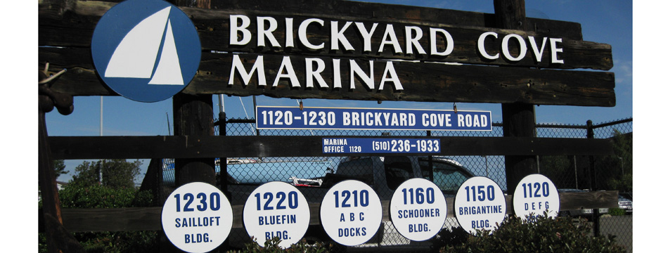 Brickyard Cove Marina Entrance